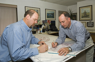 Golf Course Builder - David Dale and Kevin Ramsey of Golfplan